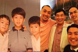 Phillip Nguyễn khoe ảnh hiếm bên bố tỷ phú và anh cả kín tiếng định cư ở nước ngoài
