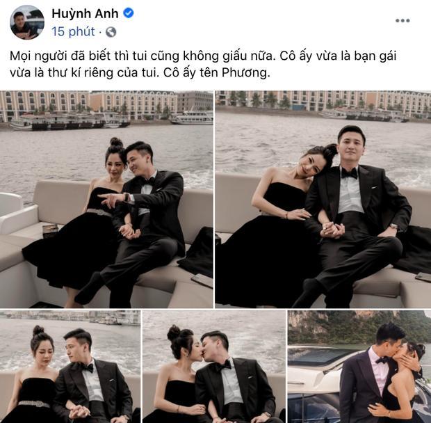Huỳnh Anh công khai ảnh ôm ấp bạn gái MC VTV, viết hẳn status giới thiệu người ấy là ai-2