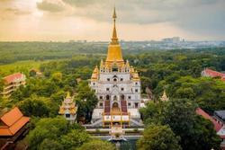 Địa điểm 'check-in' cực đẹp của giới trẻ Sài Gòn: Ngôi chùa có bảo tháp cao nhất Việt Nam