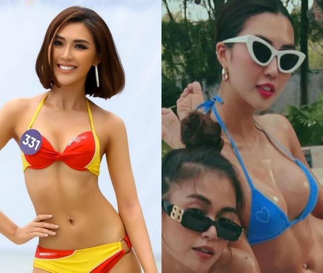 Hoa hậu Sắc đẹp Châu Á Tường Linh lộ bằng chứng nâng ngực khó chối-3