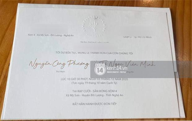 Hé lộ thiệp cưới của Công Phượng tại Nghệ An, địa điểm tổ chức hôn lễ rất đặc biệt-1