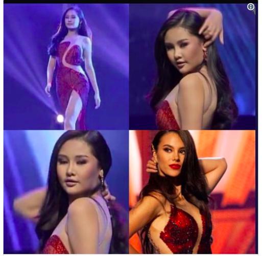 Thêm một pha nghi án váy nhái tại cuộc thi Hoa hậu: Bộ đầm mà Ngân Anh, Hương Giang từng mặc cũng bị đào mộ ngay lập tức-4