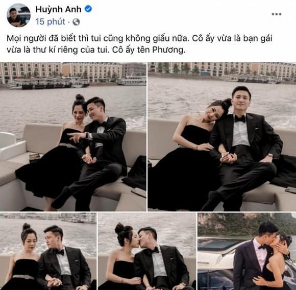 Bạn gái hơn 6 tuổi tiết lộ thời gian tổ chức đám cưới với diễn viên Huỳnh Anh-1