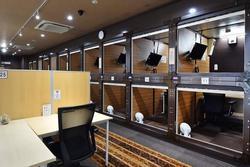 Khách sạn con nhộng được biến thành văn phòng làm việc tại Nhật Bản