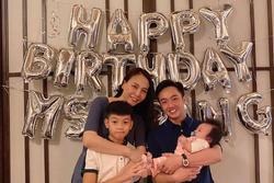 Đàm Thu Trang được chồng tổ chức sinh nhật, hành động với Subeo gây chú ý