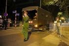 Quả bom 340kg được di dời trong đêm, người dân Trúc Bạch đã về nhà