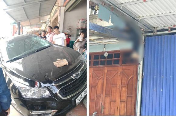 Vụ tai nạn hất văng 2 bố con lên mái nhà tử vong: Tài xế mượn xe, đi ăn tiệc về-1