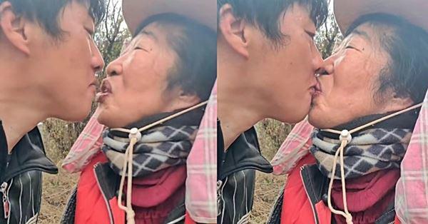 Cô dâu hội người cao tuổi kết hôn với cháu trai kém 35 tuổi: Xin lỗi đã giấu tuổi thật-3