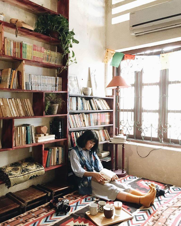 Những quán cafe đẹp lạ núp kỹ trong khu tập thể ở Hà Nội-4