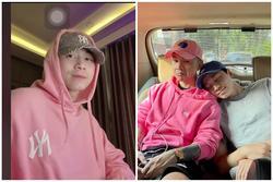 Karik trổ tài rap nhưng người nghe lại chỉ chú ý đến chiếc áo màu hồng