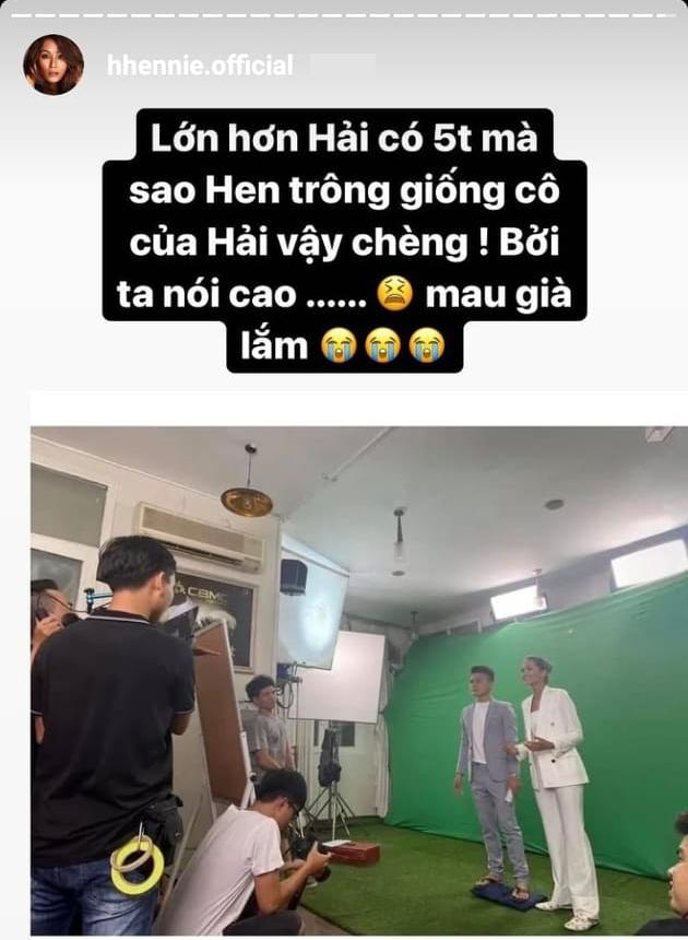 Có tướng phu thê nhưng HHen Niê lại giống bà cô của Quang Hải-1