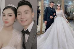 Vợ chồng trung vệ Bùi Tiến Dũng vào TP.HCM chụp ảnh cưới, fan lo lắng hôn lễ sẽ bị ảnh hưởng bởi Covid-19