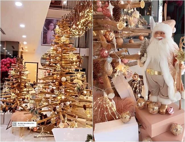 Sao Việt trang trí nhà cửa đón Giáng sinh: Không ai chịu chơi hơn Ngọc Trinh-4