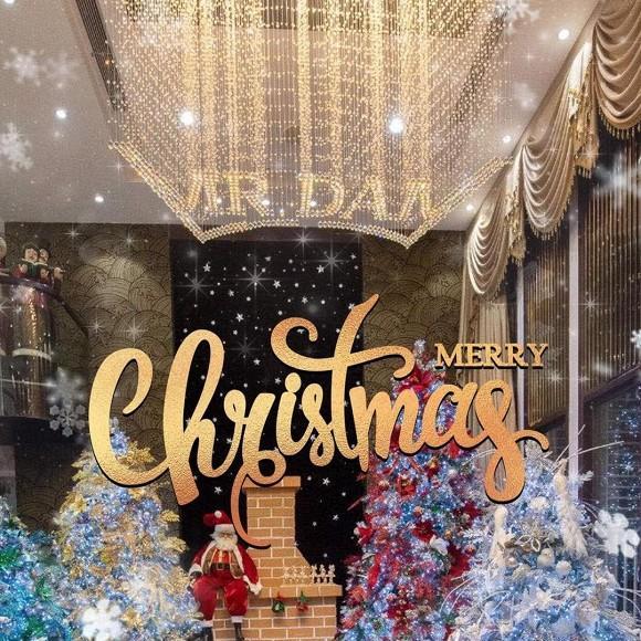 Sao Việt trang trí nhà cửa đón Giáng sinh: Không ai chịu chơi hơn Ngọc Trinh-11