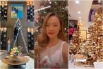 Sao Việt trang trí nhà cửa đón Giáng sinh: Không ai chịu chơi hơn Ngọc Trinh