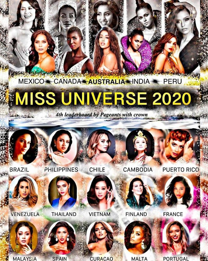 Khánh Vân đang đứng hạng mấy trên các bảng xếp hạng Miss Universe 2020?-3