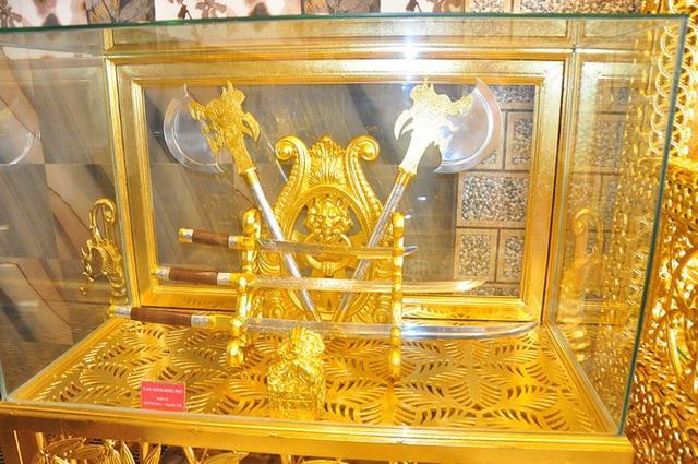 Dân mạng choáng ngợp ngôi nhà dát vàng ở Cần Thơ, riêng nội thất mất 2 năm hoàn thiện-6