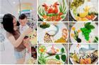 Rực rỡ sắc màu với những đĩa cơm bento của mẹ Hà Nội dành cho bé