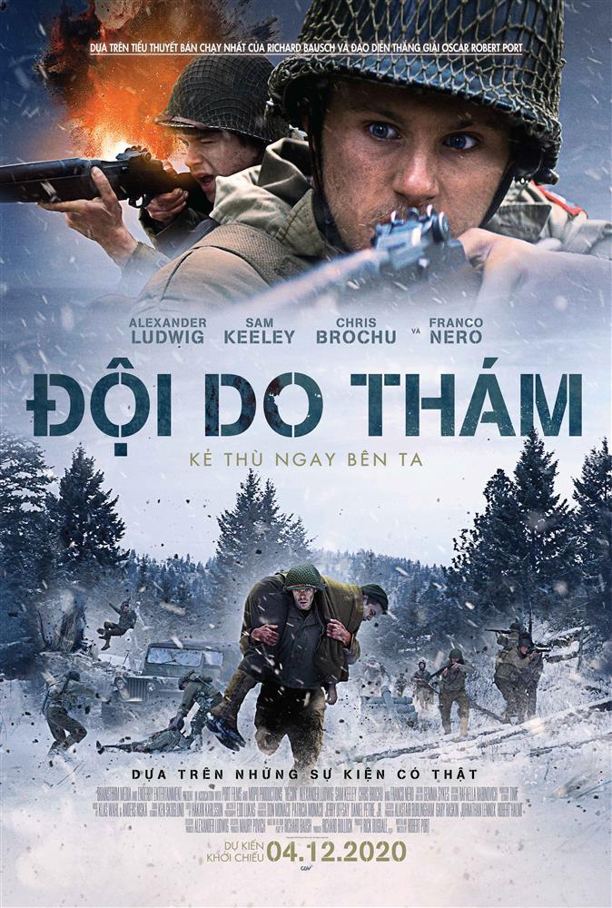 3 phim giật gân, tội phạm không thể bỏ lỡ trong tháng 12-1