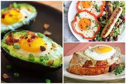 3 món trứng chỉ mất vài phút để chế biến mà hương vị vẫn ngon như nhà hàng