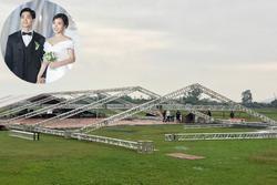 Đám cưới Công Phượng ở Nghệ An bảo vệ nghiêm ngặt, không cho người lạ chụp hình