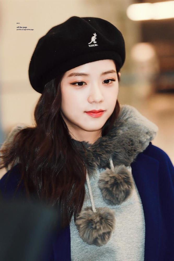 Mũ beret - phụ kiện sống ảo không thể thiếu của BLACKPINK Jisoo-1