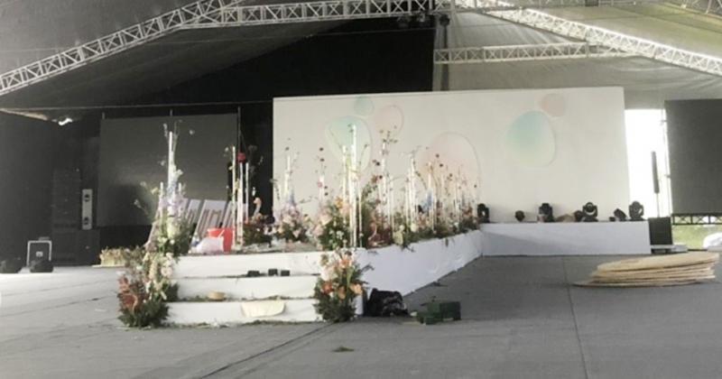 Cận cảnh rạp 1.400m2 đón hơn 1.000 khách trong siêu đám cưới Công Phượng ở Nghệ An-7