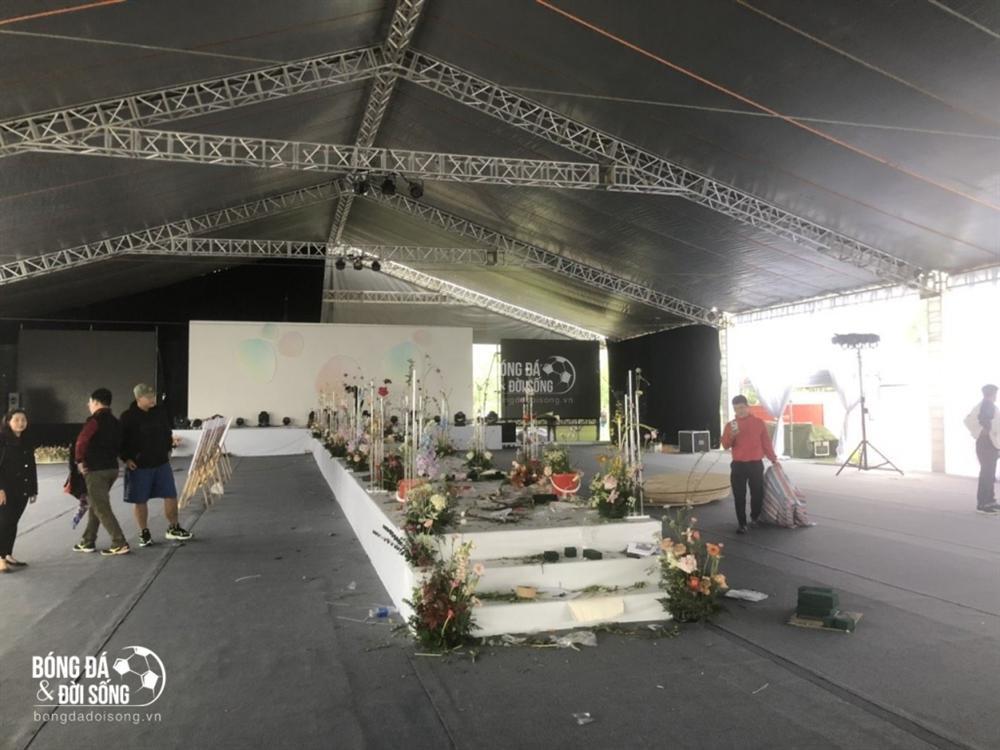Cận cảnh rạp 1.400m2 đón hơn 1.000 khách trong siêu đám cưới Công Phượng ở Nghệ An-4