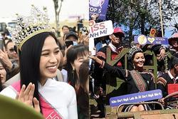 2 hoa hậu được chào đón ở quê nhà 'như idol K-pop'