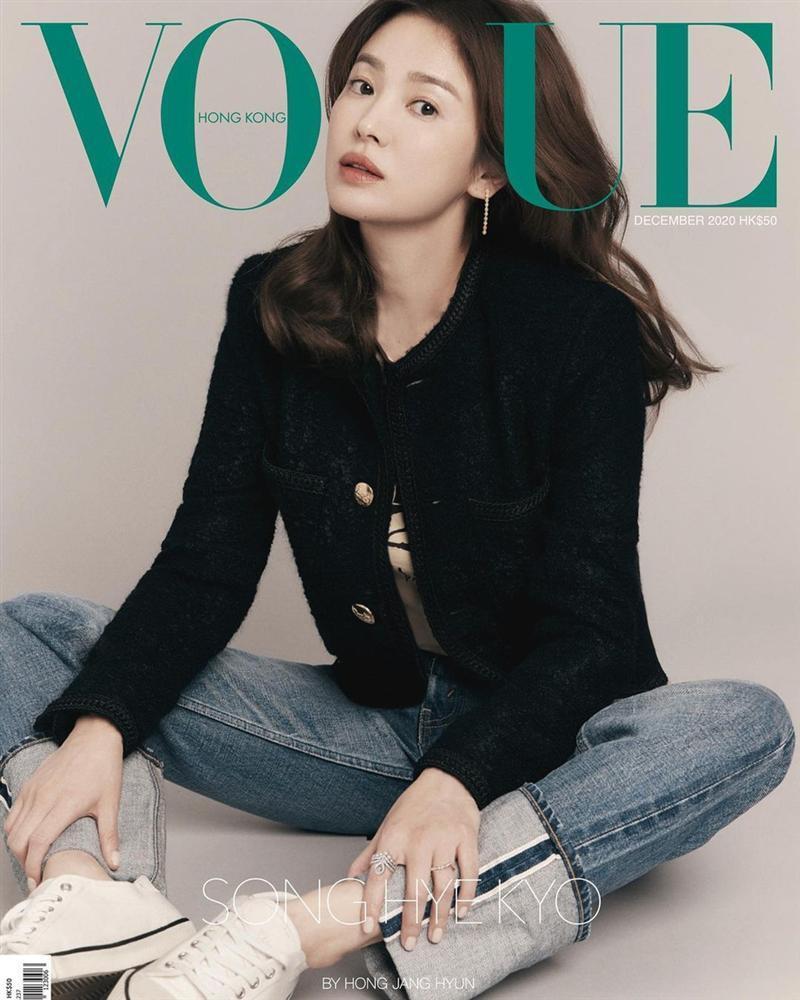 Song Hye Kyo xác lập kỷ lục trên bìa tạp chí-2