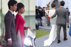 Dựa vào trang phục cưới, chứng minh cô dâu của Công Phượng là người tinh tế