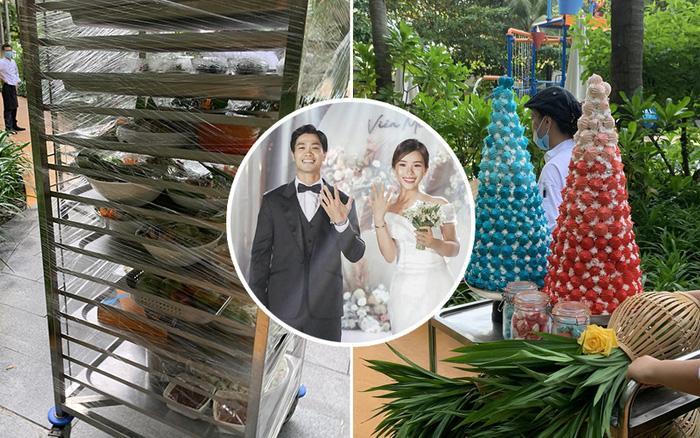 Thực đơn đám cưới Công Phượng - Viên Minh ở Nghệ An có gì đặc biệt?-3