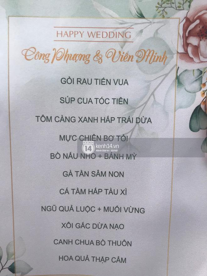 Thực đơn đám cưới Công Phượng - Viên Minh ở Nghệ An có gì đặc biệt?-1