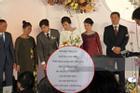 Thực đơn đám cưới Công Phượng - Viên Minh ở Nghệ An có gì đặc biệt?