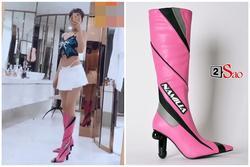 Ngọc Trinh gây choáng khi tậu thêm boots có hình bộ phận sinh dục nam