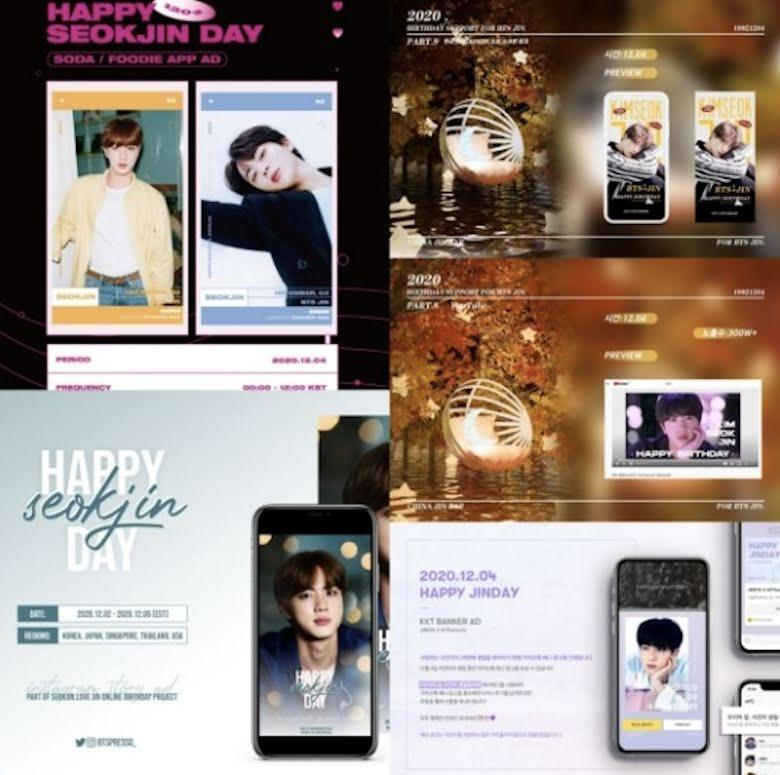 Số hưởng như Jin BTS, fan mua hẳn quảng cáo TV PR ngày sinh nhật-3