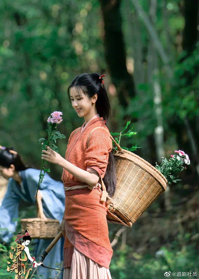 Đồng Lệ Á hóa thân thành Tây Thi, netizen ca tụng: Không hổ danh đệ nhất mỹ nữ Tân Cương-8