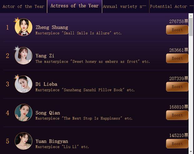 Vương Nhất Bác bị nghi lợi dụng Trần Tình Lệnh để đua top bình chọn diễn viên nam ở báo Trung-5