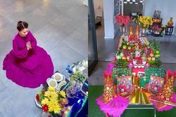 Mẹ Hồ Ngọc Hà hé lộ lễ cúng đầy tháng 2 cháu ngoại