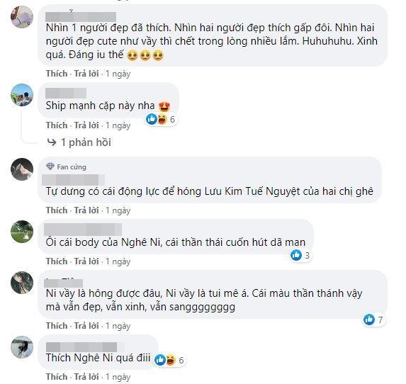 Lưu Thi Thi và Nghê Ni quấn quít không rời, netizen ra sức đẩy thuyền bách hợp-1