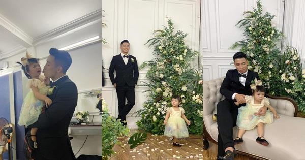 Ảnh cưới Bùi Tiến Dũng: Chú rể đẹp trai ngời ngời, cô dâu photoshop đến biến dạng-6
