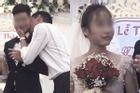 Chú rể bị cưỡng hôn trên sân khấu, phản ứng của cô dâu làm ai cũng bất ngờ