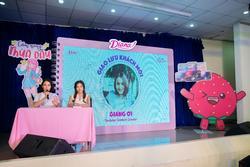 Vlogger Giang Ơi chia sẻ về tuổi mới lớn với nữ sinh trung học