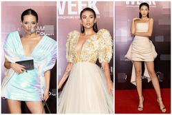 Thảm đỏ Fashion Week: Người dùng khẩu trang trong suốt - Nàng mặt lạnh mãi một biểu cảm