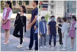 Bị lép vế khi đứng cạnh Hoa hậu Đỗ Thị Hà, Diệu Nhi liền 'hack' chiều cao lầy lội khiến ai cũng 'cạn lời'