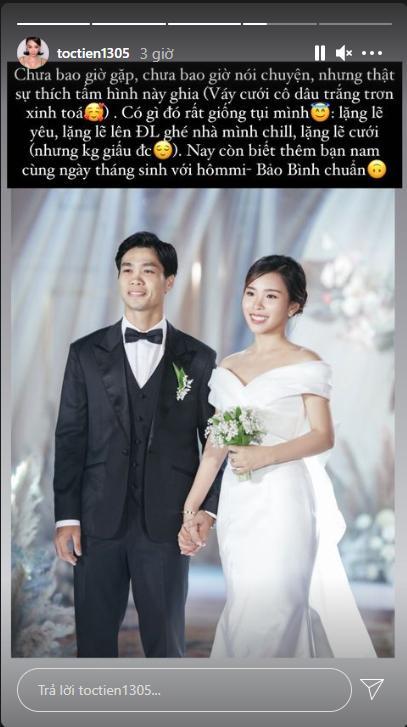 Tóc Tiên phát hiện chi tiết thú vị khi xem ảnh cưới Công Phượng - Viên Minh-2