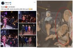 Binz chia sẻ về màn phát 'cẩu lương' công khai đầu tiên với Châu Bùi tại Fashion Week: Nghe sao thấy lươn lẹo quá?