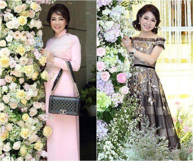Mẹ chồng Diệp Lâm Anh trẻ đẹp khó tin, chụp cùng con dâu mà như chị em-6