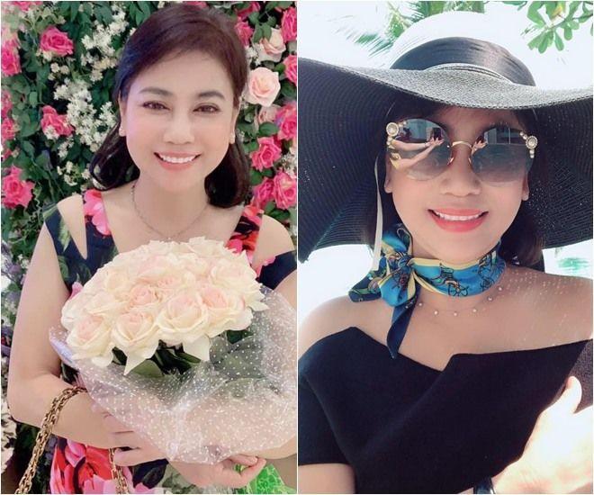 Mẹ chồng Diệp Lâm Anh trẻ đẹp khó tin, chụp cùng con dâu mà như chị em-9