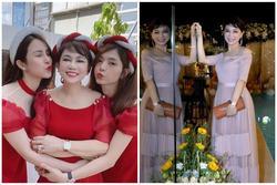 Mẹ chồng Diệp Lâm Anh trẻ đẹp khó tin, chụp cùng con dâu mà như chị em